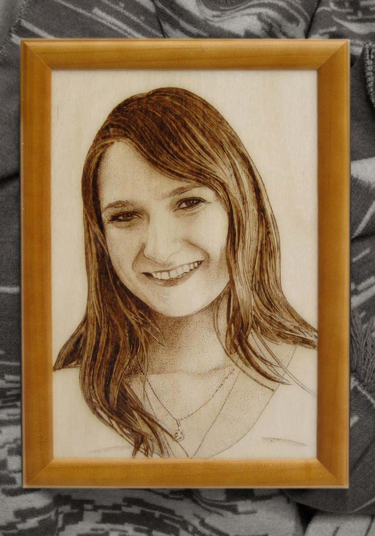 Портрет из дерева своими руками 48